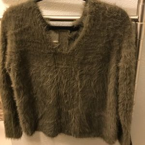 Olive Green Banana Republic Sweater NWT